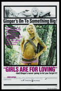 "Movie Posters:Sexploitation, Cheri Caffaro Lot (Various, 1970s). One Sheets (2) (27"" X 41"").""Ginger"" (Joseph Brenner Associates, 1971) and ""Girls Are fo...(Total: 2 Items)"