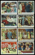 "Movie Posters:Sports, Take Me Out to the Ball Game (MGM, 1949). Lobby Card Set of 8 (11""X 14""). Sports. ... (Total: 8 Items)"