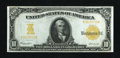 Large Size:Gold Certificates, Fr. 1172 $10 1907 Gold Certificate Very Fine....