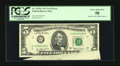Error Notes:Foldovers, Fr. 1975-G $5 1977A Federal Reserve Note. PCGS Choice About New58.. ...