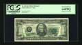Error Notes:Offsets, Fr. 2074-B $20 1981A Federal Reserve Note. PCGS Very Choice New64PPQ.. ...
