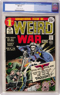 Bronze Age (1970-1979):War, Weird War Tales #1 (DC, 1971) CGC NM 9.4 Off-white to white pages....