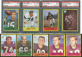 Football Cards:Sets, 1967 Philadelphia Football Collection (370 cards) With Stars. ...