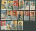 Baseball Cards:Lots, 1909-11 T206 White Border Tobacco Collection (16) - Each With a Different Back! ...