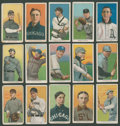 Baseball Cards:Lots, 1909-11 T206 White Border Tobacco Collection (15) With SLs andHoFers. ...