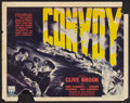 "Movie Posters:War, Convoy (RKO, 1940). Half Sheet (22"" X 28"") Style B. War.. ..."