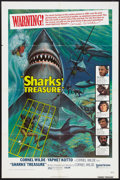 "Movie Posters:Adventure, Sharks' Treasure (United Artists, 1975). One Sheet (27"" X 41"").Adventure.. ..."