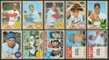 Baseball Cards:Sets, 1968 Topps Baseball High Grade Partial Set (373/598). ...