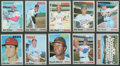 Baseball Cards:Sets, 1970 Topps Baseball High Grade Near Set (670/720). ...
