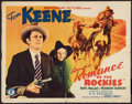 "Movie Posters:Western, Romance of the Rockies (Monogram, 1937). Half Sheet (22"" X 28""). Western.. ..."