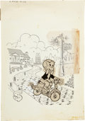 Original Comic Art:Covers, Warren Kremer Richie Rich #103 Cover Original Art (Harvey,1971)....