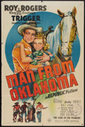 """Movie Posters:Western, Man from Oklahoma (Republic, 1945). One Sheet (27"""" X 41""""). Western.. ..."""
