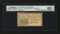 Colonial Notes:New Jersey, New Jersey February 20, 1776 30s John Hart PMG Choice Uncirculated 63 EPQ....