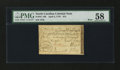 Colonial Notes:North Carolina, North Carolina April 2, 1776 $15 Boar PMG Choice About Unc 58....