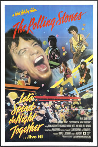 """Let's Spend the Night Together (Embassy, 1983). One Sheet (27"""" X 41"""") and Program (9"""" X 14""""). Rock a..."""
