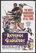 "Movie Posters:Adventure, Revenge of the Gladiators (Paramount, 1965). One Sheet (27"" X 41"").Adventure.. ..."