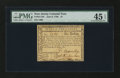 Colonial Notes:New Jersey, New Jersey June 9, 1780 $1 PMG Choice Extremely Fine 45 EPQ....