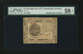 Colonial Notes:Continental Congress Issues, Continental Currency November 29, 1775 $7 PMG Choice About Unc 58EPQ....