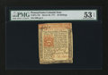 Colonial Notes:Pennsylvania, Pennsylvania March 20, 1771 20s PMG About Uncirculated 53 EPQ....