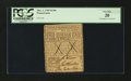 Colonial Notes:Pennsylvania, Pennsylvania March 1, 1769 £1 10s Contemporary Counterfeit PCGSVery Fine 20....