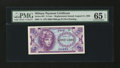 Military Payment Certificates:Series 641, Series 641 5¢ Replacement PMG Gem Uncirculated 65 EPQ....