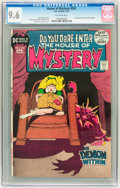 Bronze Age (1970-1979):Horror, House of Mystery #201 (DC, 1972) CGC NM+ 9.6 Off-white pages....