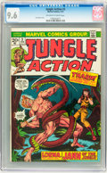 Bronze Age (1970-1979):Adventure, Jungle Action #3 (Marvel, 1973) CGC NM+ 9.6 Off-white to white pages....