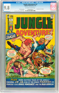 Bronze Age (1970-1979):Adventure, Jungle Adventures #1 (Skywald, 1971) CGC NM/MT 9.8 Off-white to white pages....