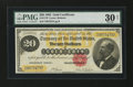 Large Size:Gold Certificates, Fr. 1178 $20 1882 Gold Certificate PMG Very Fine 30 Net....