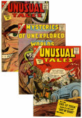 Silver Age (1956-1969):Science Fiction, Unusual Tales/Mysteries of Unexplored Worlds Western Penn pedigree Group (Charlton, 1962-64) Condition: Average VF/NM.... (Total: 9 Comic Books)