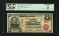 National Bank Notes:West Virginia, Clarksburg, WV - $5 1902 Red Seal Fr. 587 The Union NB Ch. #(S)7681. ...