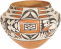 American Indian Art:Pottery, AN ACOMA POLYCHROME JAR. c. 1925. ...
