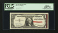 Error Notes:Obstruction Errors, Fr. 1619 $1 1957 Silver Certificate. PCGS Gem New 65PPQ.. ...