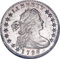Early Half Dimes, 1796 H10C LIKERTY MS63 NGC. V-1, LM-1, R.3. ...