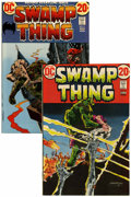 Bronze Age (1970-1979):Horror, Swamp Thing #2 and 3 Group (DC, 1973).... (Total: 2 Comic Books)