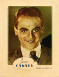 """Movie Posters:Miscellaneous, James Cagney Personality Poster (Warner Brothers, 1934). Poster(22"""" X 28"""").. ..."""