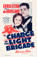 """Movie Posters:Action, The Charge of the Light Brigade (Warner Brothers, 1936). One Sheet (27"""" X 41"""").. ..."""