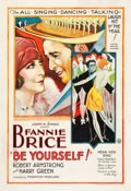 """Movie Posters:Musical, Be Yourself (United Artists, 1930). One Sheet (28"""" X 41"""").. ..."""