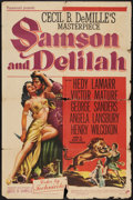 """Movie Posters:Adventure, Samson and Delilah (Paramount, 1949). One Sheet (27"""" X 41"""").Adventure.. ..."""