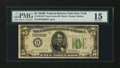 Fr. 1952-B* $5 1928B Federal Reserve Note. PMG Choice Fine 15