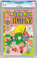 Bronze Age (1970-1979):Cartoon Character, Richie Rich Billions CGC-Graded File Copies Group (Harvey,1979-80).... (Total: 4 Comic Books)