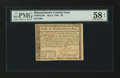 Colonial Notes:Massachusetts, Massachusetts May 5, 1780 $8 PMG Choice About Unc 58 EPQ....
