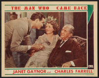 "The Man Who Came Back (Fox, 1931). Lobby Card (11"" X 14""). Drama"