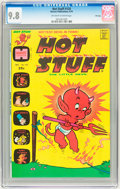 Bronze Age (1970-1979):Cartoon Character, Hot Stuff, the Little Devil #124 File Copy (Harvey, 1974) CGC NM/MT9.8 Off-white to white pages....