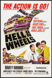 "Hell on Wheels Lot (Crown International, 1967). One Sheets (2) (27"" X 41""). Sports. ... (Total: 2 Items)"
