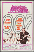 """Movie Posters:James Bond, Dr. No/From Russia with Love Combo (United Artists, R-1965). One Sheet (27"""" X 41""""). James Bond.. ..."""