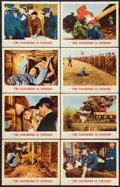 "Movie Posters:War, The Password Is Courage (MGM, 1963). Lobby Card Set of 8 (11"" X14""). War.. ... (Total: 8 Items)"