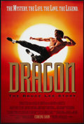 "Movie Posters:Action, Dragon: The Bruce Lee Story (Universal, 1993). One Sheet (27"" X 40"") SS Advance. Action.. ..."