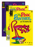 Bronze Age (1970-1979):Cartoon Character, Pink Panther File Copy Group (Gold Key, 1973-80) Condition: AverageVF+.... (Total: 54 Comic Books)