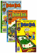 Modern Age (1980-Present):Humor, Richie Rich File Copy Group (Harvey, 1981-82) Condition: AverageNM-.... (Total: 8 Comic Books)